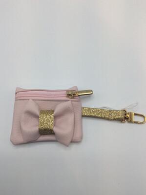Poopbag Pink/gold