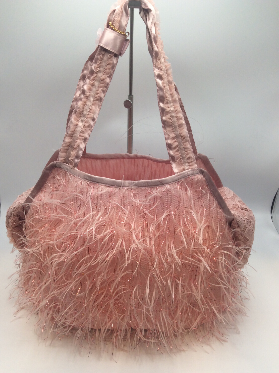 Feather Bag Pink