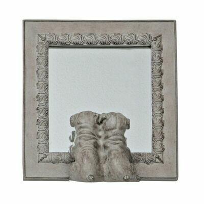 Spiegel met Hond