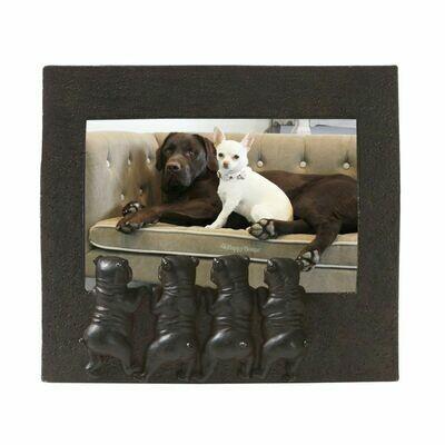 Cadre avec chiens