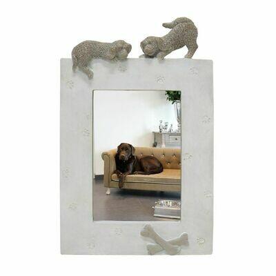 Fotolijst Hond Staand Beige