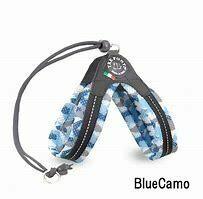 Liberta Blue Camouflage Mesh