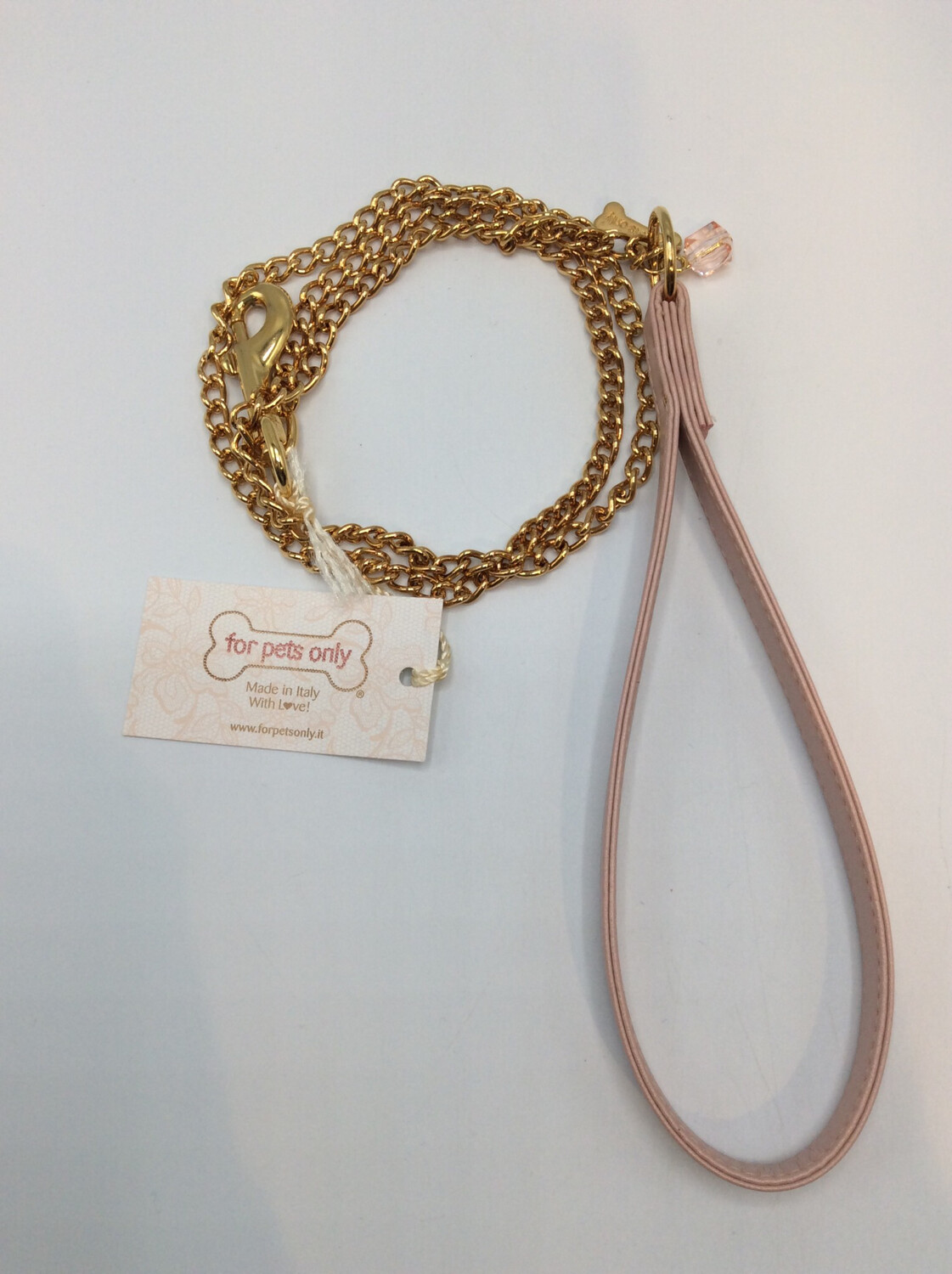 Chain Lead Old Pink