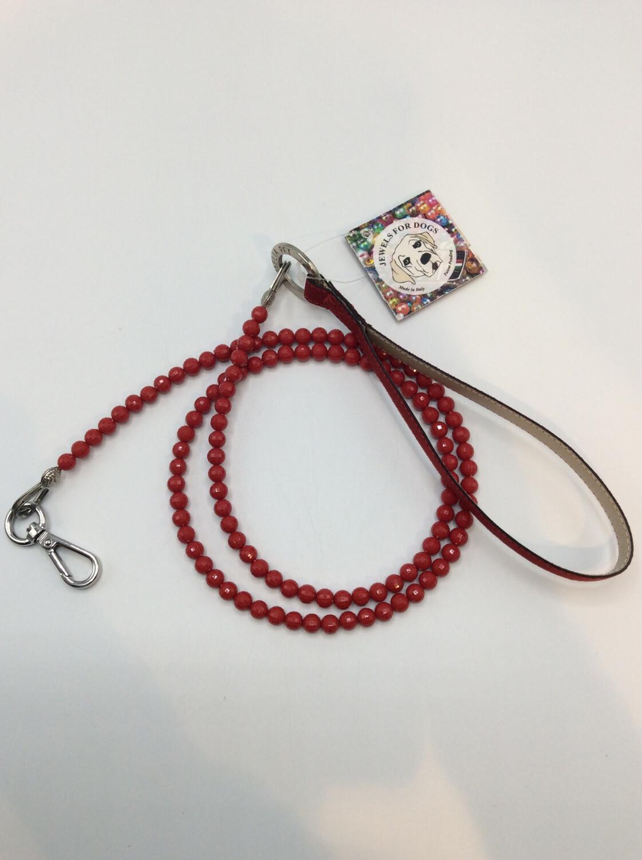 Jewels Leash Red