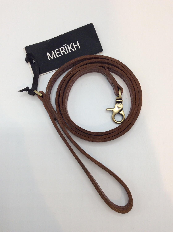 Leather Leash Cognac Brown