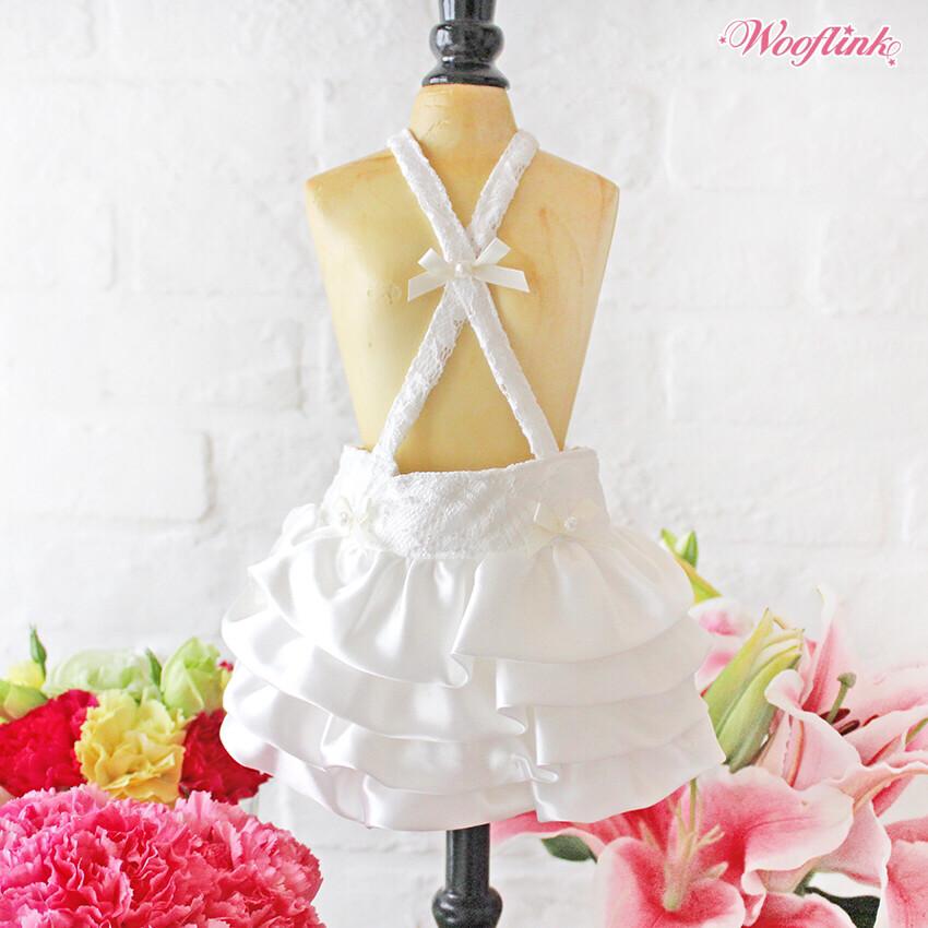 Silky Skirt White