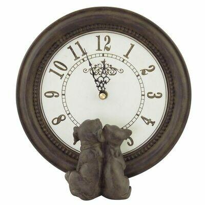 Horloge chien & chat