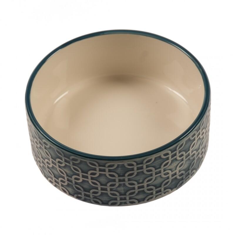 Feeding Bowl Deco Azur Ø13cm