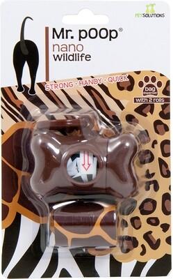 Mr Poop Wildlife + Brown Holder