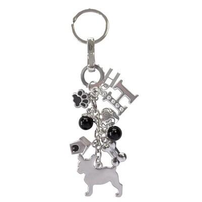 Sleutelhanger Franse Bulldog