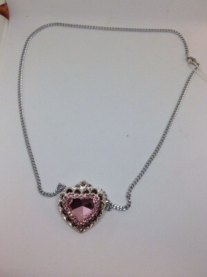 Dames halsketting met hart
