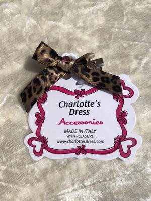 Hairclip Anita Leopard