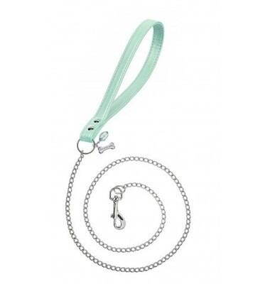 Chain lead green silver