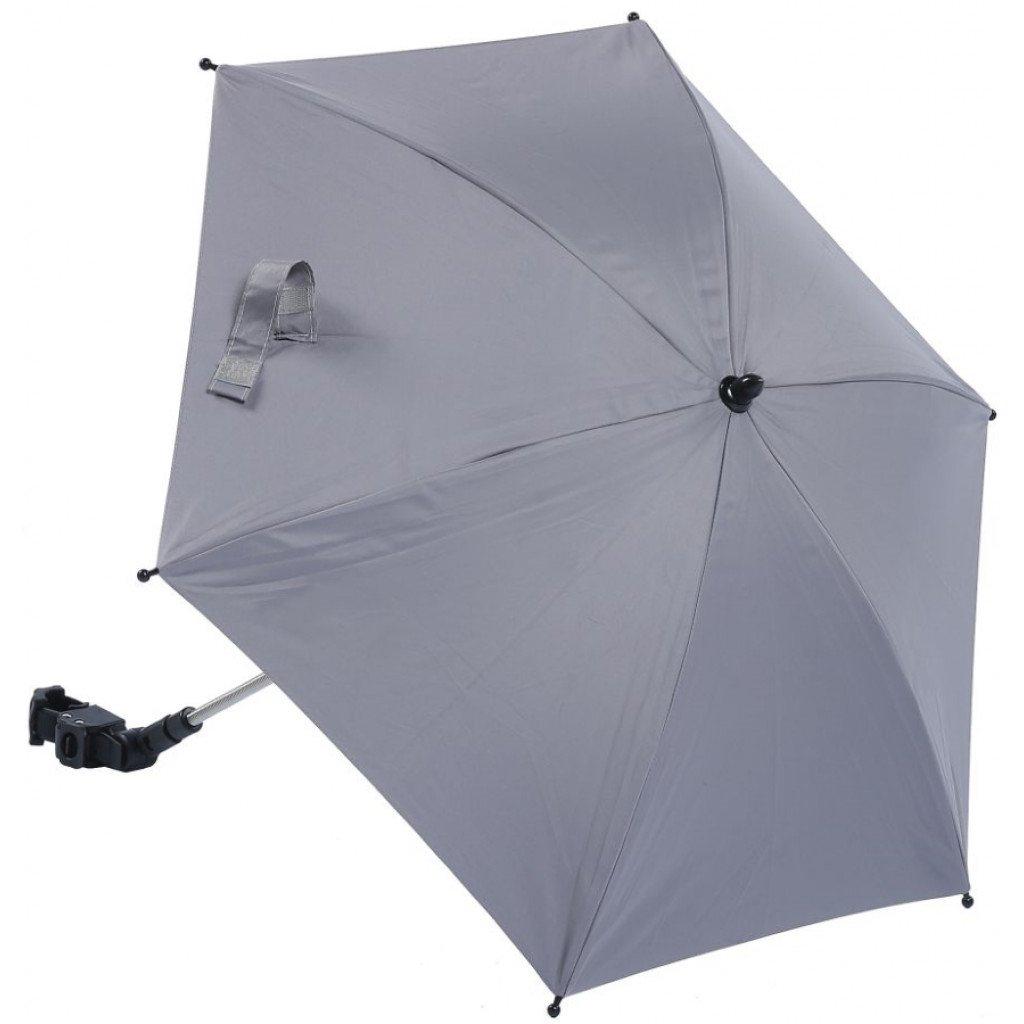 Buggy parasol grijs