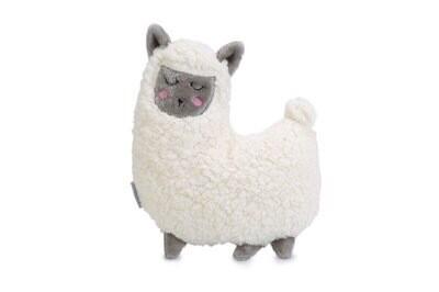 Knuffel lama wit