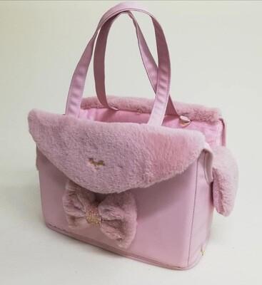 Passenger bag pink + waste bag