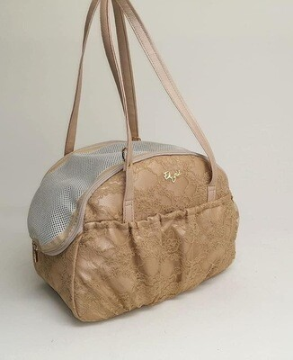 Mistery bag medium lace coffe + waste bag
