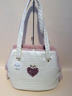 Fait bag S2 white/pink