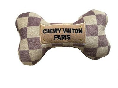 Checker Chewy Vuiton Bone L