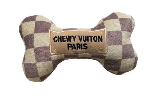 Checker Chewy Vuiton Bone S