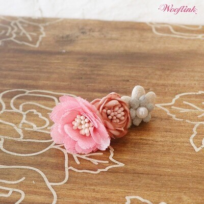 Vintage Flower Hairclip