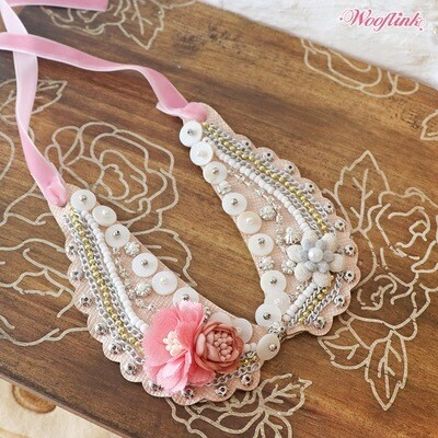Vintage flower Girl necklace