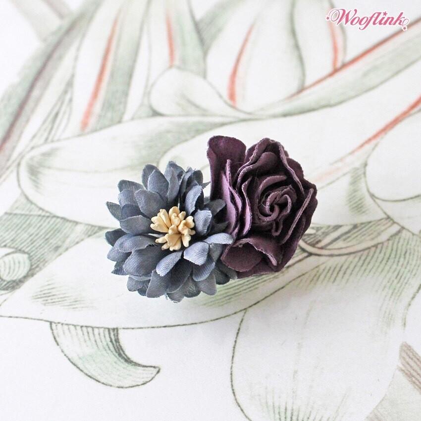 Flower Princess hairclip