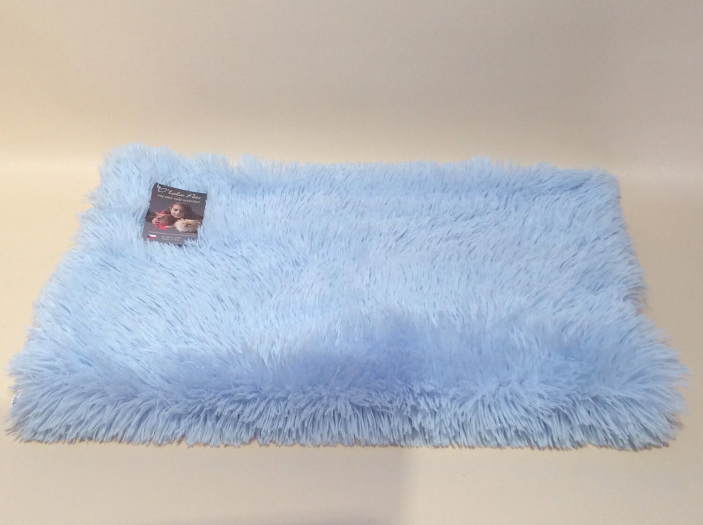Travel blanket blue