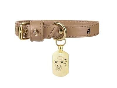 Topomio Charm collar camel