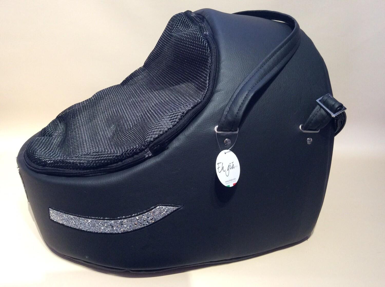 Glitty car Igloo black + heart grey S2