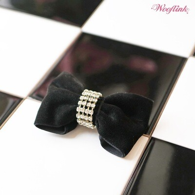 Party time bow black