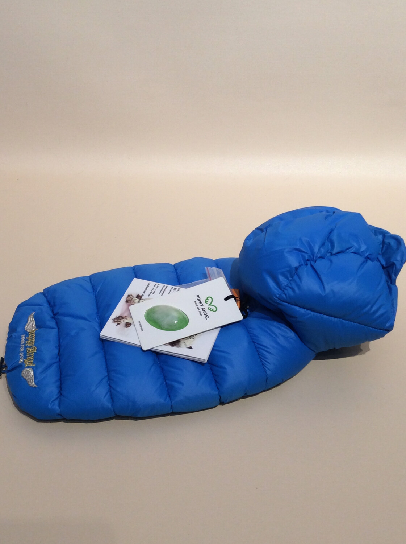Padding with detachable hood blue