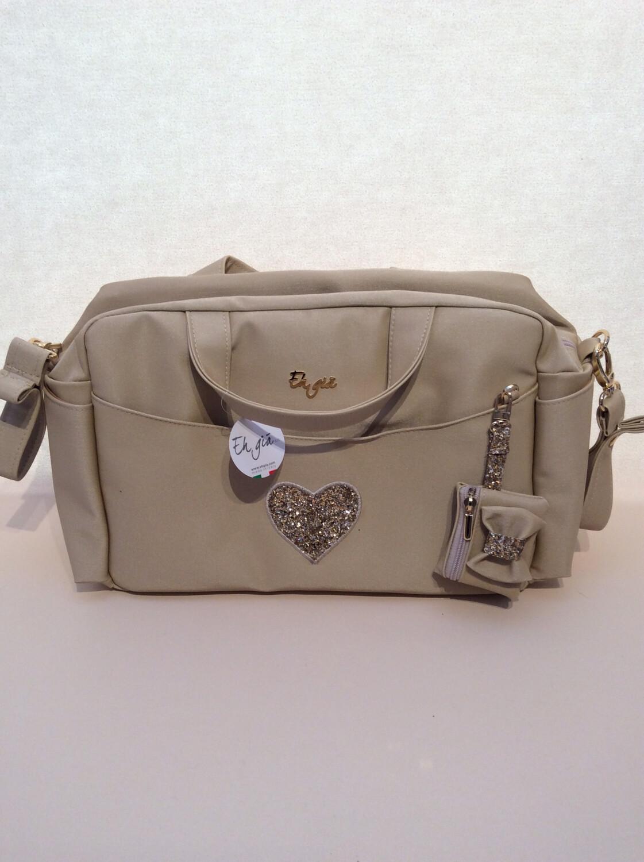 Nursury bag biscotto heart + waste bag