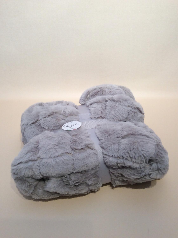 Blanket grey 130x160