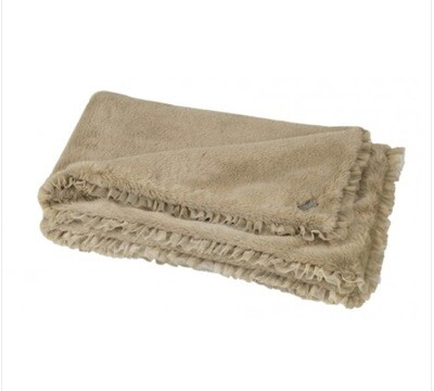 Luxury cover chenille camel