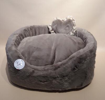 Fluffy high bed grey