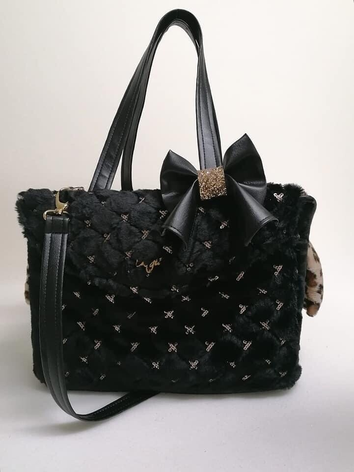 Passenger bag black + removable knot