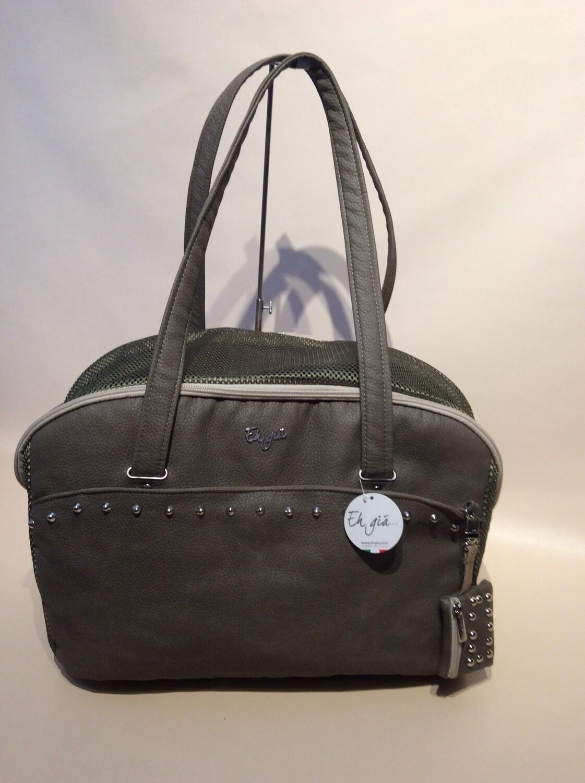 Summer life bag size 2 Dk taupe hammered