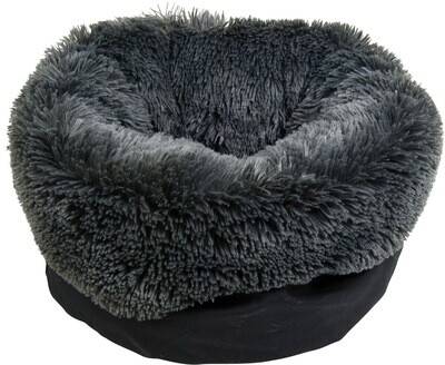 Long plush grey 40x50
