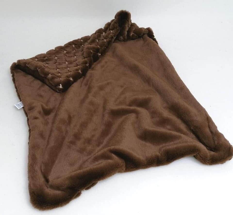 Blankets cognac 50x70