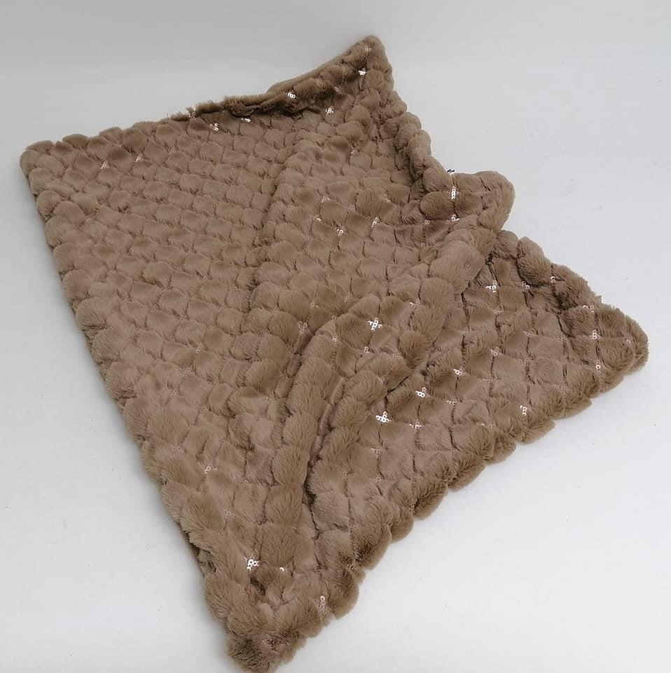 Blankets  hazelnut 50x70