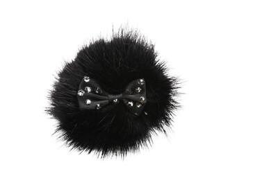Hairclip Miss bon bon black