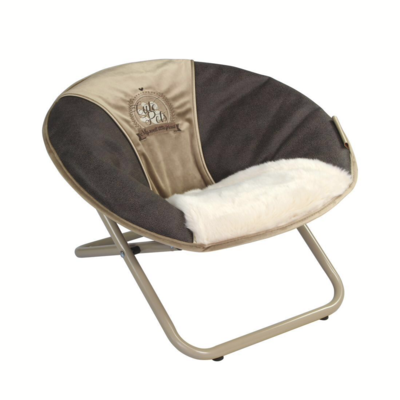 Chaise relax taupe