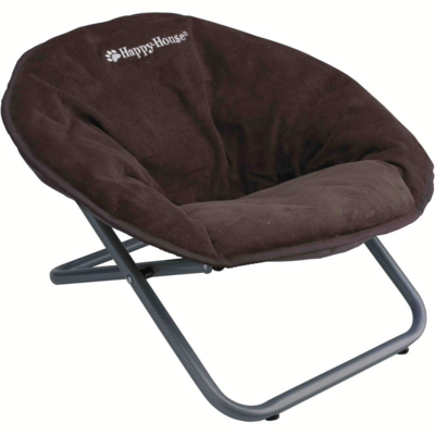 Chaise relax brune