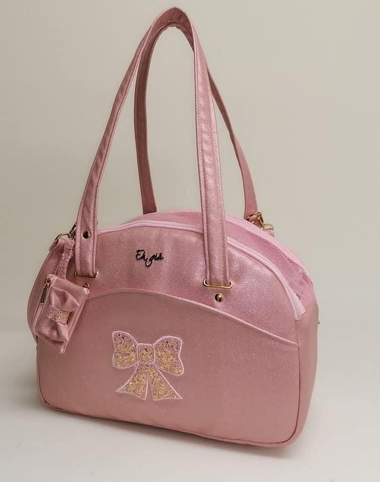 Traveller bag + waste bag small califfo pink