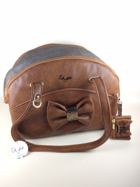 Traveller bag bruno tan + waste bag