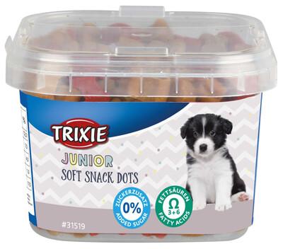 Junior soft snacks dots 140gr