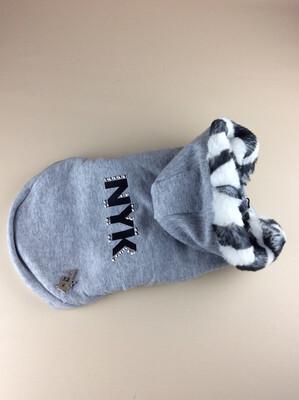 NYK grey sweatshirt