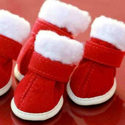 X-Mas shoes size 2