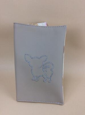 Paspoorthoesje blauw